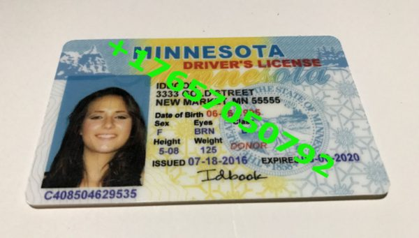 , MINNESOTA ID (Drivers License)