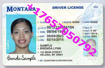 MONTANA ID (Drivers License)