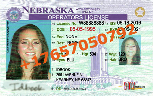 NEBRASKA ID (Drivers License)