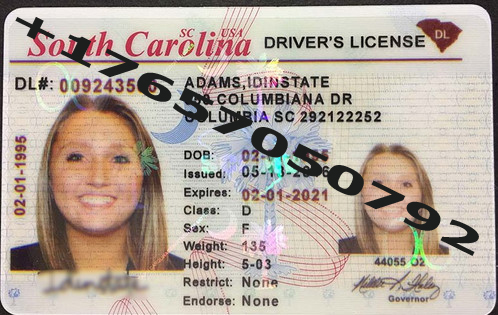 License Citizenship drivers South For Sale Carolina Id