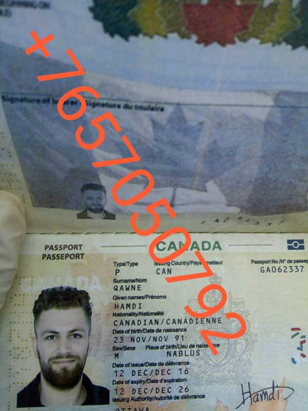buy passport online, CANADIAN PASSPORT