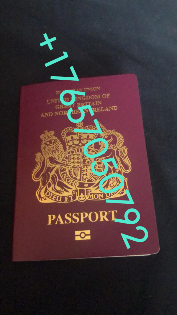 , UNITED KINGDOM PASSPORT